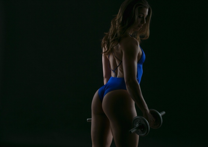 The mind won't grow and flex likeglutes